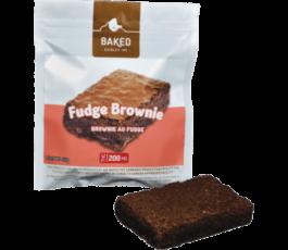 Chocolate Fudge Marijuana Brownie 200mg THC