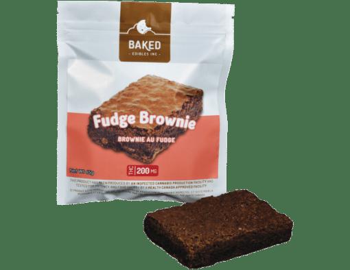 Chocolate Fudge Marijuana Brownie