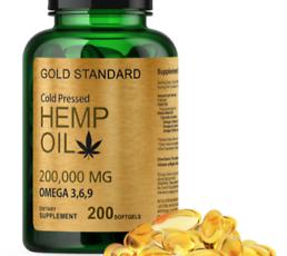Hemp Seed Oil Capsules 1000mg THC