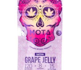 Sativa Jelly Medicated Grape Jelly 120mg THC